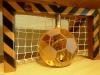 hálós focikapu